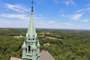 Steeple from the tower