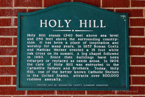 Holy Hill landmark sign