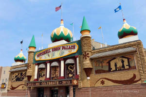 The Corn Palace from the outside
