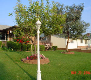 Our Front Yard, May 2004